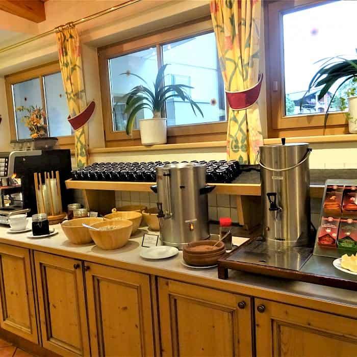 Hotel Römerhof - Buffet - Frühstück